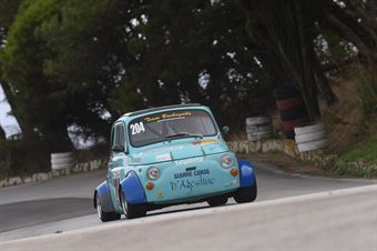 Sebastiano D'Agostino (Fiat 500 #204), CAMPIONATO ITALIANO VELOCITÀ MONTAGNA