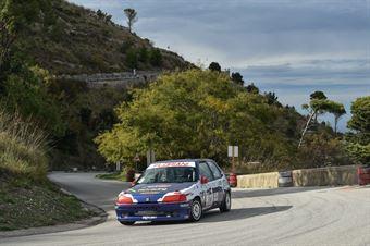 Davì Salvatore ( Ro Racing , Peugeot 106 #115), CAMPIONATO ITALIANO VELOCITÀ MONTAGNA
