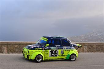 Antonio Caltabiano ( Cubeda Corse, Fiat 500 #199), CAMPIONATO ITALIANO VELOCITÀ MONTAGNA
