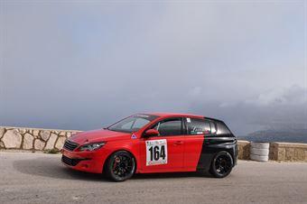 Angelo Loconte ( Epta Motorsport, Peugeot 308 GT #164), CAMPIONATO ITALIANO VELOCITÀ MONTAGNA