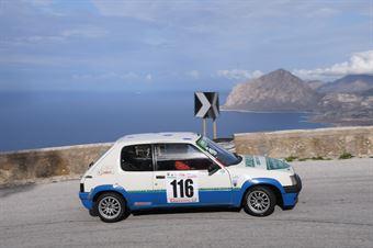 Bellavia Calogero ( Trapani Corse , Peugeot 205 #116), CAMPIONATO ITALIANO VELOCITÀ MONTAGNA