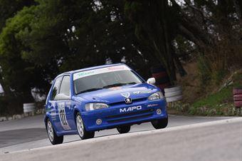 Simone Alogna ( Peugeot 106 #122), CAMPIONATO ITALIANO VELOCITÀ MONTAGNA