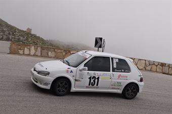 Massimo Simonte ( Ro Racing , Peugeot 106 #131), CAMPIONATO ITALIANO VELOCITÀ MONTAGNA