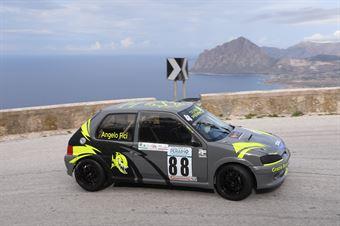Angelo Fici ( Drepanum Corse , Peugeot 106 #88), CAMPIONATO ITALIANO VELOCITÀ MONTAGNA