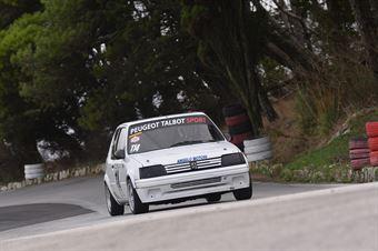 Savona Massimo ( Peugeot 205 #114), CAMPIONATO ITALIANO VELOCITÀ MONTAGNA