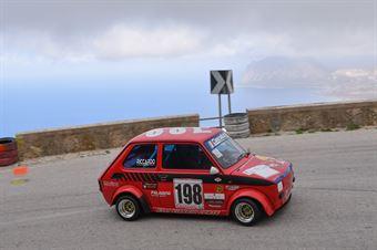 Riccardo Viaggio (Cubeda Corse, Fiat 126 #198, CAMPIONATO ITALIANO VELOCITÀ MONTAGNA
