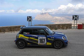 Domenico Tinella ( Apulia Corse, Mini Cooper S JCW #167), CAMPIONATO ITALIANO VELOCITÀ MONTAGNA