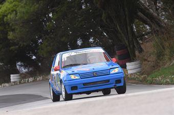 Craparotta Filippo ( Trapani Corse , Peugeot 205 #89), CAMPIONATO ITALIANO VELOCITÀ MONTAGNA