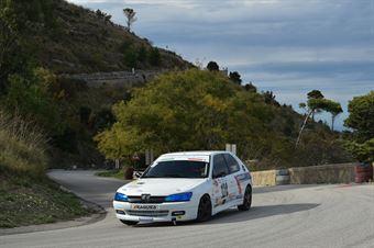 Catanzaro Salvatore ( Armanno Corse , Peugeot 306 #124), CAMPIONATO ITALIANO VELOCITÀ MONTAGNA