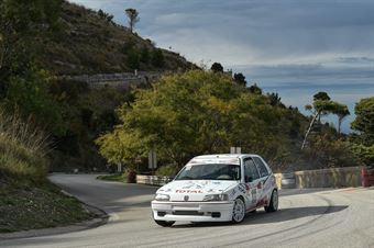 Alessandro Cappello ( Catania Corse , Peugeot 106#111), CAMPIONATO ITALIANO VELOCITÀ MONTAGNA