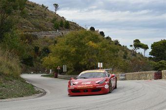 Giovanni Vecchio (Gaetani Racing , Ferrari 458 Challenge Evo #65), CAMPIONATO ITALIANO VELOCITÀ MONTAGNA
