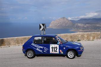 Enrico Valenti ( Trapani Corse, Peugeot 205 #112), CAMPIONATO ITALIANO VELOCITÀ MONTAGNA