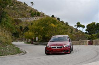 Denny Zardo ( Peugeot 308 gti, Best Lap #162), CAMPIONATO ITALIANO VELOCITÀ MONTAGNA