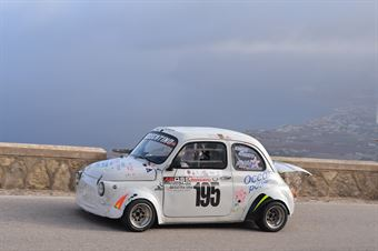 Andrea Currenti ( Catania Corse, Fiat 500 #195), CAMPIONATO ITALIANO VELOCITÀ MONTAGNA