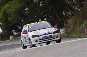 Antonino Tilotta ( Trapani Corse , Peugeot 106 #126), CAMPIONATO ITALIANO VELOCITÀ MONTAGNA