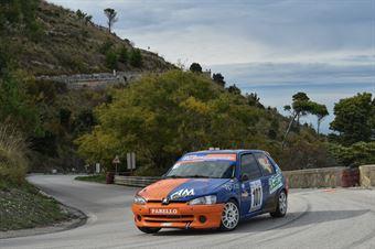 Andrea Basile ( Project Team , Peugeot 106 #107), CAMPIONATO ITALIANO VELOCITÀ MONTAGNA