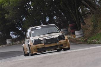 Domenico Rotella, New Generation Racing, Renault 5 GTT #81), CAMPIONATO ITALIANO VELOCITÀ MONTAGNA