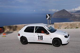 Errichetti Rocco(XEO Group Peugeot 106 #119, CAMPIONATO ITALIANO VELOCITÀ MONTAGNA