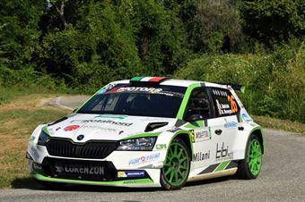 Rudy Andriolo; Manuel Menegol (Skoda Fabia R5; La Superba), CAMPIONATO ITALIANO WRC