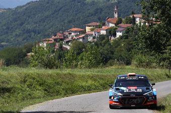 Craig Breen Paul Nagle; Hyundai i20 R5 #6, CAMPIONATO ITALIANO WRC