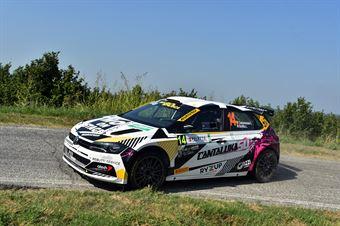 Luca Cantamessa; Lisa Bollito (Volkswagen Polo R5; Eurospeed), CAMPIONATO ITALIANO WRC
