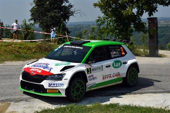 Andrea Carella; Enrico Bracchi (Skoda Fabia R5; MS Munaretto), CAMPIONATO ITALIANO WRC