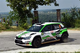 Elwis Chentre; Fulvio Florean (Skoda Fabia R5; News Driver's Team), CAMPIONATO ITALIANO WRC