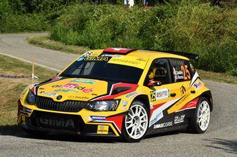 Kim Daldini, Daniele Rocca (Skoda Fabia R5; La Superba), CAMPIONATO ITALIANO WRC