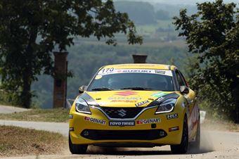 Giorgio Fichera; Alessandro Mazzocchi (Suzuki Baleno Rstb 1.0; Project Team), CAMPIONATO ITALIANO WRC