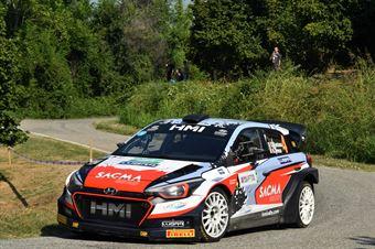 Fontana Corrado; Arena Nicola (Hyundai New i20 Wrc; Bluthunder Racing Italy), CAMPIONATO ITALIANO WRC