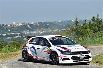 Fotia Anthony; Diddier Michel (Volkswagen Polo R5; Alma Racing), CAMPIONATO ITALIANO WRC