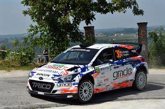 Stefano Giorgioni; Federico Boglietti (Hyundai i20 R5), CAMPIONATO ITALIANO WRC