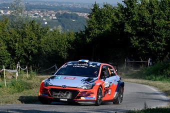 Jari Huttunen Mikko Lukka, Hyundai i20 R5 #18, CAMPIONATO ITALIANO WRC