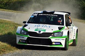 Stefano Liburdi; Andrea Colapietro (Skoda Fabia R5; MS Munaretto), CAMPIONATO ITALIANO WRC