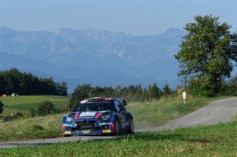 Simone Miele Roberto Mometti, Citroen DS3 WRC #1, Ares Comunication, CAMPIONATO ITALIANO WRC