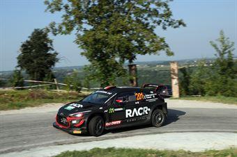 Pedersoli Luca; Tomasi Anna (Hyundai i20 Coupe Wrc), CAMPIONATO ITALIANO WRC