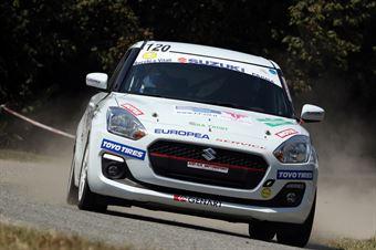 Giovanni Pelosi; Nicolo' Barla (Suzuki Swift R1; G.R. Motorsport), CAMPIONATO ITALIANO WRC