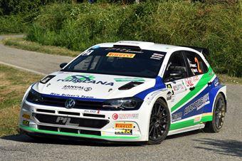 Corrado Pinzano; Marco Zegna (Volkswagen  Polo R5; New Driver's Team), CAMPIONATO ITALIANO WRC