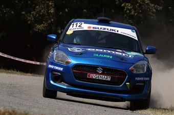 Simone Rivia; Andrea Destri (Suzuki Swift R1; Novara Corse), CAMPIONATO ITALIANO WRC