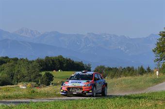 Luca Rossetti Manuel Fenoli, Hyundai i20 R5 #7, Motor in Motion, CAMPIONATO ITALIANO WRC