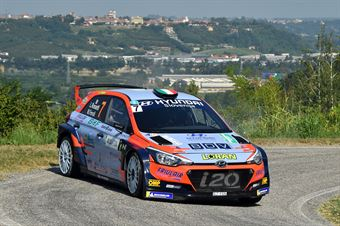 Rossetti Luca; Fenoli Manuel (Hyundai i20 R5; Motor in Motion), CAMPIONATO ITALIANO WRC