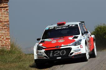 Daniel Sordo; Carlos Del Barrio (Hyundai i20 R5), CAMPIONATO ITALIANO WRC