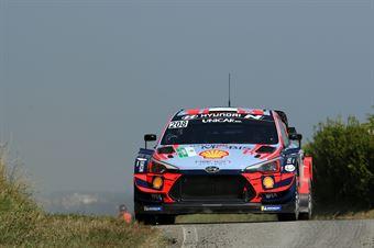 Ott Tanak; Martin Jarveoja (Hyundai i20 Coupe Wrc), CAMPIONATO ITALIANO WRC