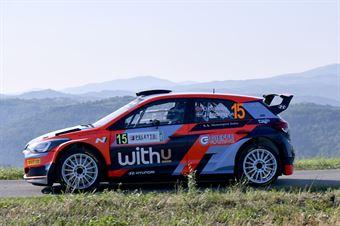 Ole Christian Veiby Jonas Anders Andersson, Hyundai i20 R5 #15, CAMPIONATO ITALIANO WRC