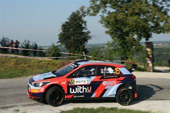 Ole Christian Veiby; Jonas Anders Andersson (Hyundai i20 R5), CAMPIONATO ITALIANO WRC