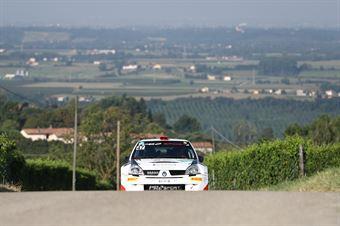 Vescovi Roberto Guzzi Giancarla, Renault Clio S1600 #47, GR Motorsport, CAMPIONATO ITALIANO WRC