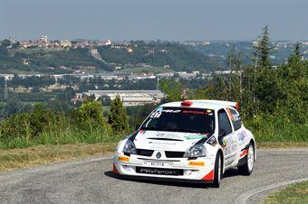 Roberto Vescovi; Giancarla Guzzi (Renault Clio S1600; G.R. Motorsport), CAMPIONATO ITALIANO WRC