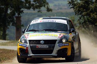 Mattia Zanin; Roberto Simioni (Suzuki Swift R1b; Vimotorsport), CAMPIONATO ITALIANO WRC