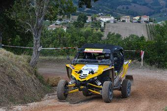 Bertuzzi Alessandro, Briani Rudy(Yamaha yxz1000r, #318), CAMPIONATO ITALIANO CROSS COUNTRY
