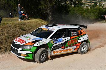 Dettori Giuseppe Pisano Carlo, Skoda Fabia R5 #16, ASD Team Autoservice, COPPA RALLY DI ZONA